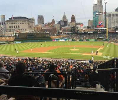 Comerica Park, section: 131, row: D, seat: 3