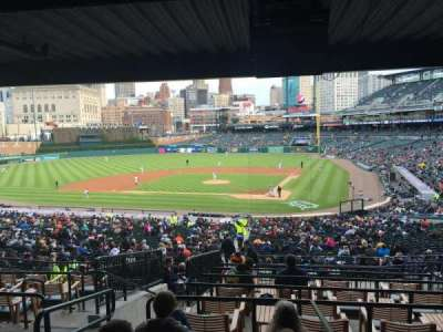 Comerica Park, section: 131, row: H, seat: 1