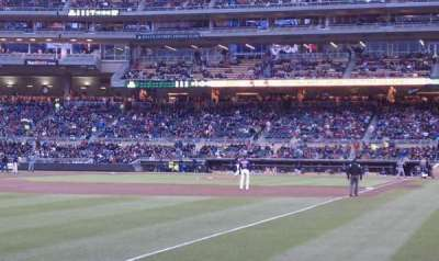 Target Field section 126