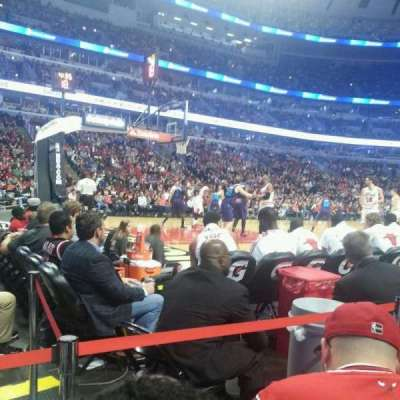 United Center, section: 102, row: B, seat: 16