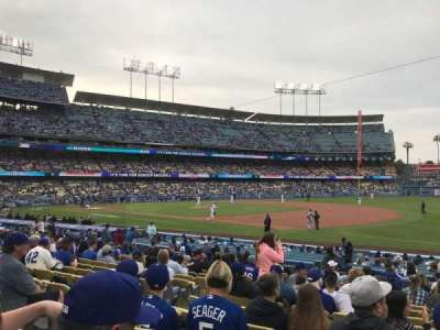 Dodger Stadium, section: 32FD, row: O, seat: 6