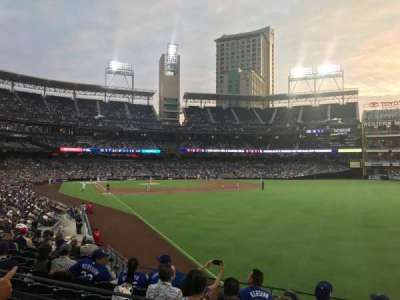 PETCO Park, section: 123, row: 28, seat: 20