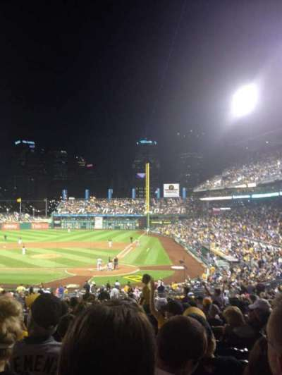 PNC Park, section: 119, row: CC, seat: 13