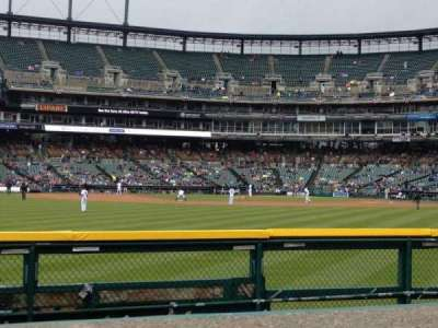 Comerica Park section 150