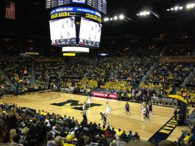 Crisler Center, section: 101, row: 16, seat: 8