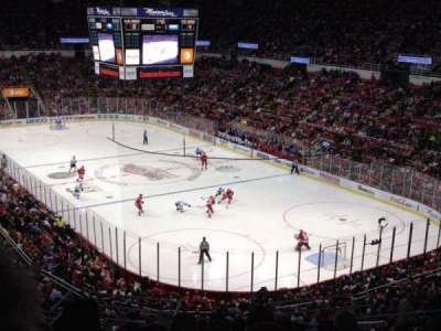 Joe Louis Arena section 203A