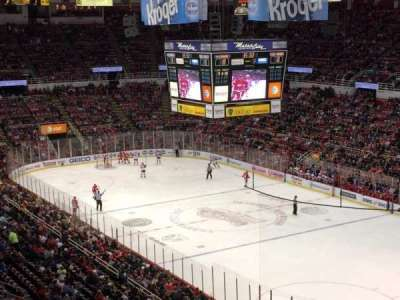 Joe Louis Arena, section: 203B, row: 20, seat: 27