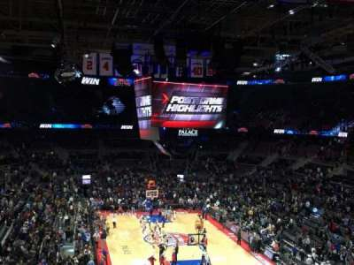 The Palace of Auburn Hills, section: 224, row: 1, seat: 5