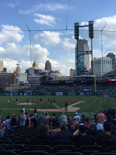 Comerica Park, section: 130, row: 20, seat: 7