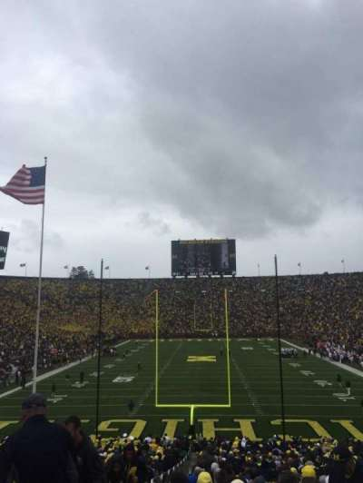 Michigan Stadium, section: 12, row: 44, seat: 13