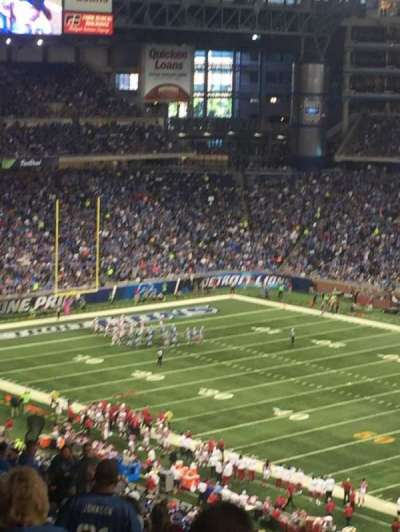 Ford Field, section: 336, row: 19, seat: 15