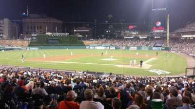 Comerica Park section SRO