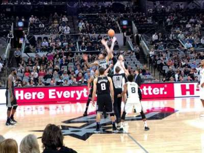 AT&T Center, section: 22, row: 7, seat: 13