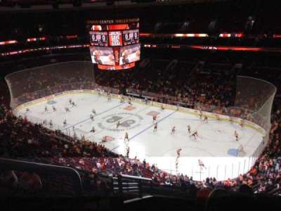 Wells Fargo Center, section: 216A, row: 12, seat: 1