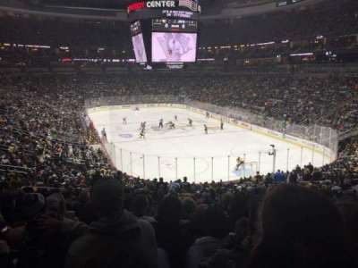 PPG Paints Arena, section: 119, row: DD, seat: 23