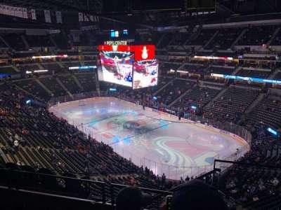 Pepsi Center, section: 332, row: 8, seat: 1
