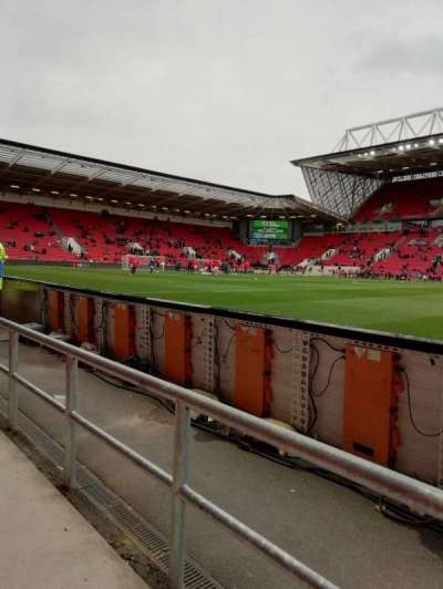 Ashton Gate Stadium, section: 32, row: 1, seat: 13