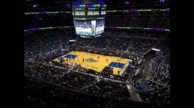 Amway Center, section: 206, row: 1, seat: 18