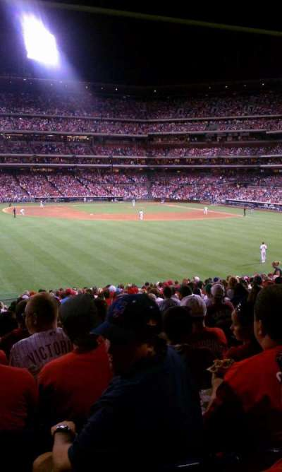 Citizens bank park  section SRO