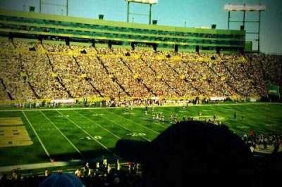Lambeau Field, section: 112, row: 45, seat: 23