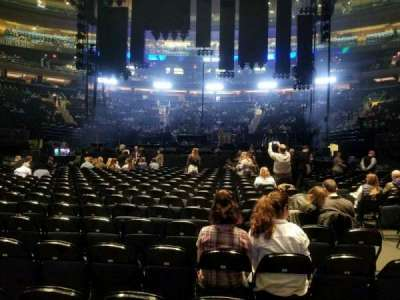 Madison Square Garden, section: B, row: 18, seat: 15