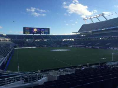 Camping World Stadium, section: 149, row: V, seat: 23