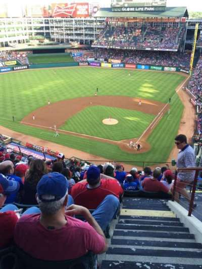 Globe Life Park in Arlington, section: 323, row: 13, seat: 21