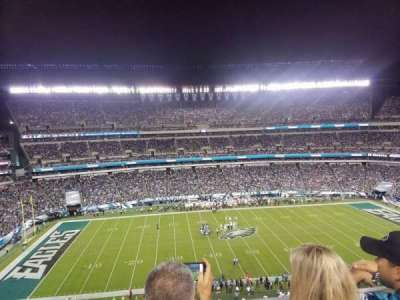 Lincoln Financial Field section 244