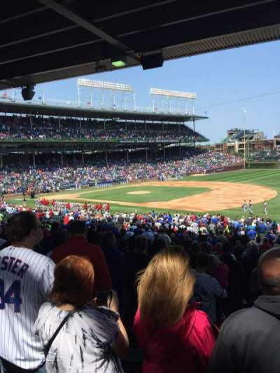 Wrigley Field section 235