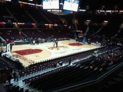 Quicken Loans Arena, section: 106, row: 24