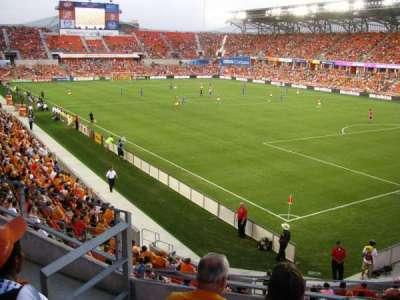 BBVA Compass Stadium section 201