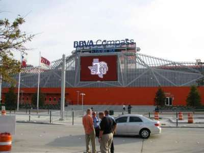 BBVA Stadium section Northwest Gate