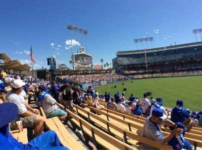 Dodger Stadium section 303PL
