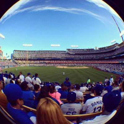 Dodger Stadium, section: 303PL, row: L, seat: 4