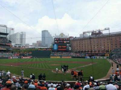 Oriole Park at Camden Yards, section: 40, row: 21, seat: 2