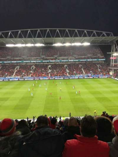 BMO Field, section: 223, row: 21, seat: 10