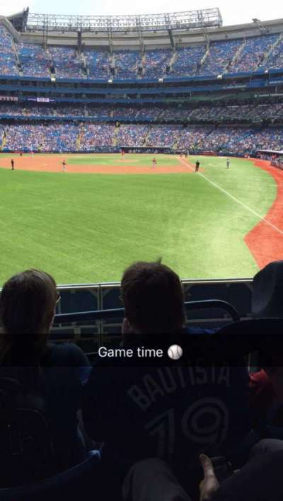 Rogers Centre, section: 135L, row: 3, seat: 107