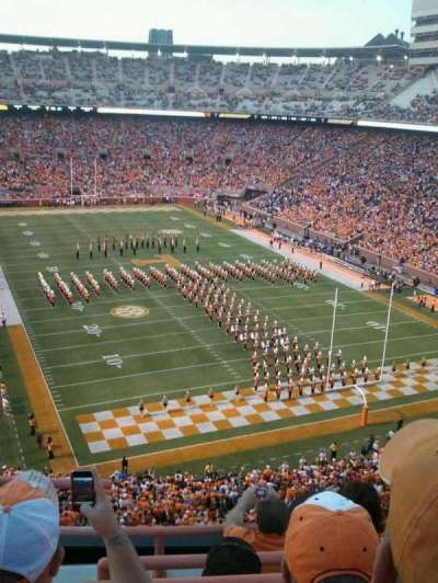 Neyland Stadium, section: NN, row: 3, seat: 24