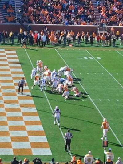 Neyland Stadium, section: G, row: 54, seat: 18-19