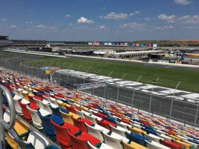 Charlotte Motor Speedway section General Motors D