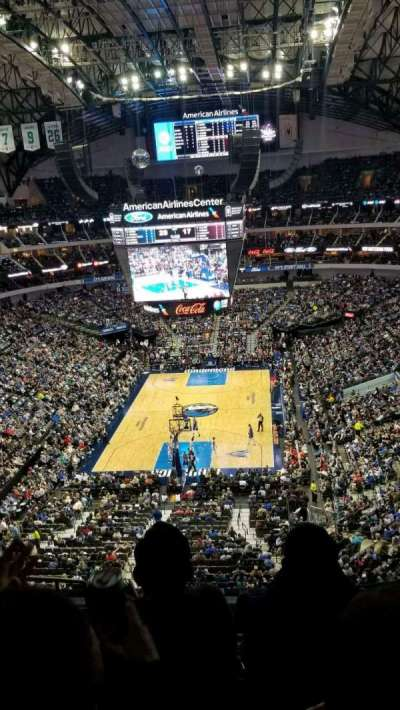 American Airlines Center, section: 334, row: D, seat: 13