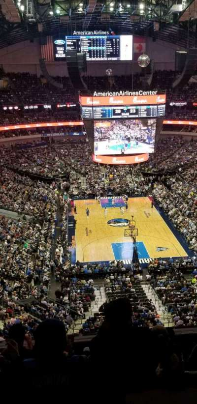 American Airlines Center section 319