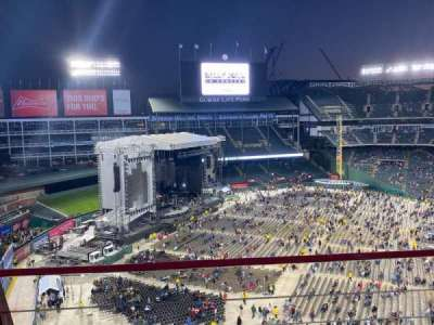 Globe Life Park in Arlington, section: 312, row: 2, seat: 11