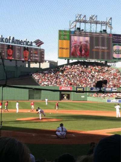 Fenway Park section Loge Box 132