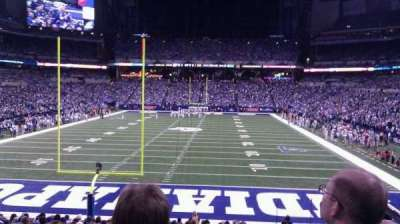 Lucas Oil Stadium section 126