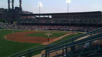 Victory Field, section: 201, row: E, seat: 5