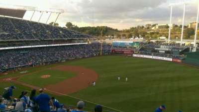 Kauffman Stadium, section: 435, row: L, seat: 16