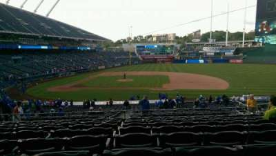 Kauffman Stadium, section: 234, row: KK, seat: 12