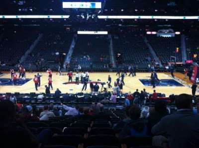 Philips Arena, section: 115, row: U, seat: 4