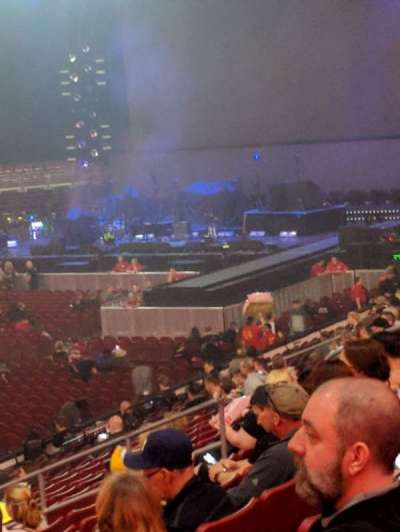 Wells Fargo Center, section: 111, row: 21, seat: 1